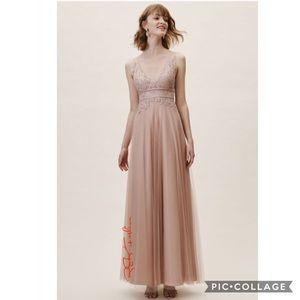 Watters Venosa Dress color: BLUSH